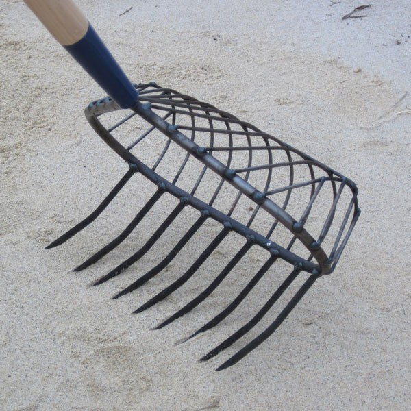Stainless Steel Snapping Turtle Rake