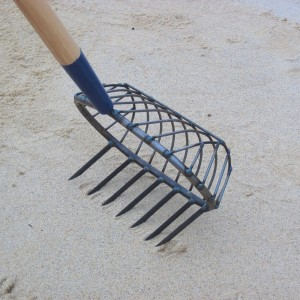 Stainless Steel Turtle-back Basket Scratcher